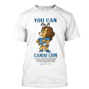 You Can Do It (White) – T-Shirt