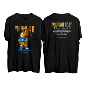You Can Do It (Black) T-Shirt